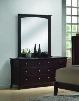 Ultra 6 Drawer Dresser And Mirror