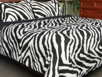 Zebra Water Colors - 3 Pc. Comforter Sets