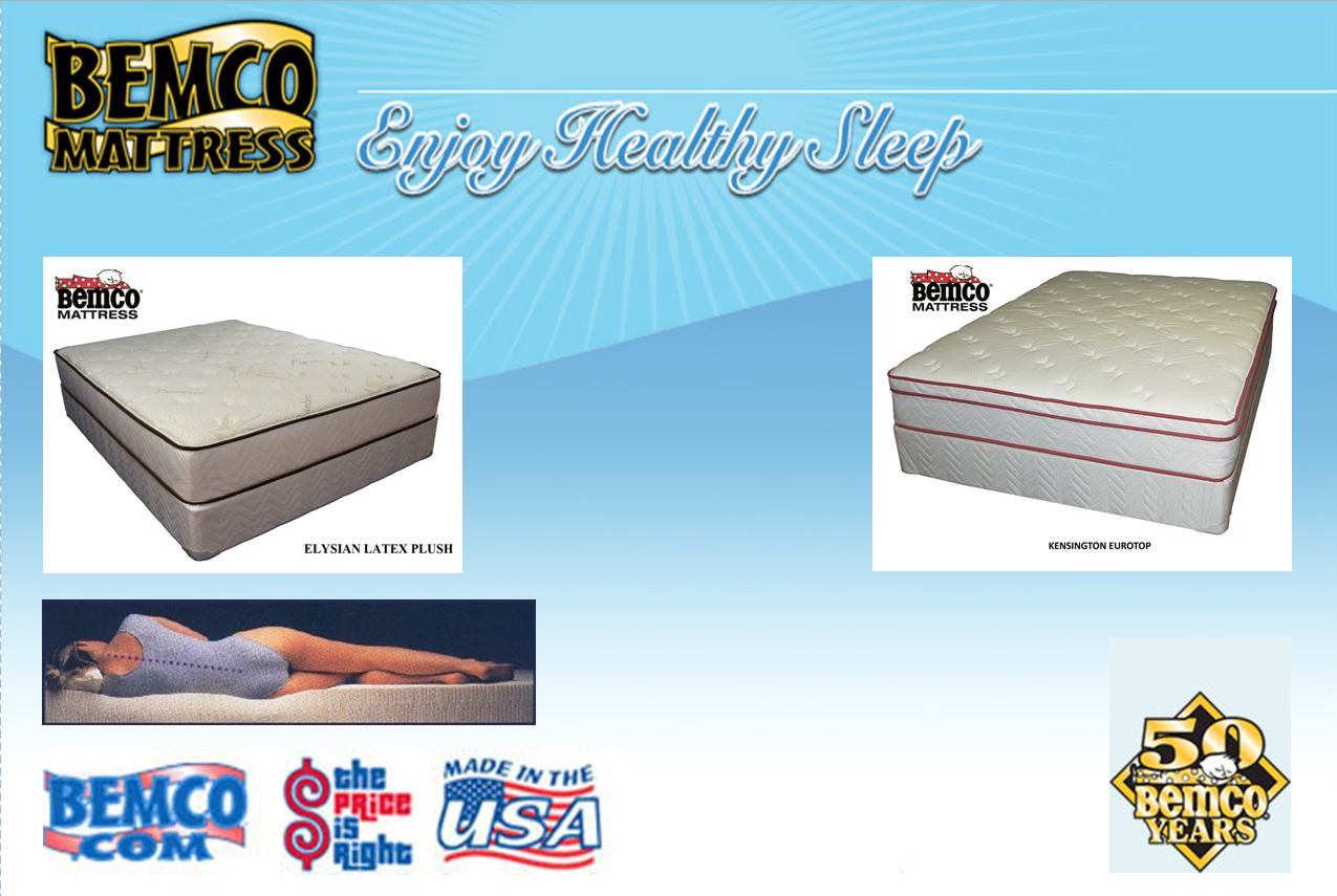 Bemco Mattress Latex | Innerspring | Memory Foam