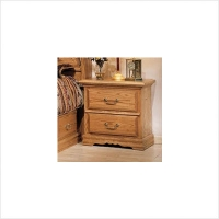 Bebe 2 Drawer Nightstand