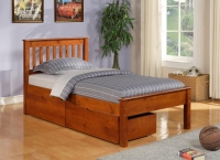 500 - Contempo Beds in Espresso