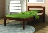 575E- Econo Mission Bed  Espresso Finish