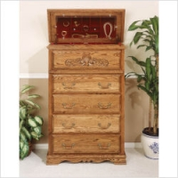 Bebe 5 Drawer Safe Top Chest