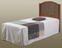 Twin Mission Headboard   Espresso Finish 708TE
