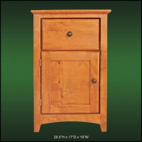Alder Ridge 1 Drawer Nightstand