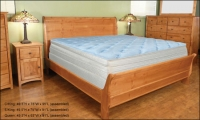 Alder Ridge Sleigh Bed