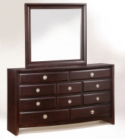 Aurora Dresser And Mirror