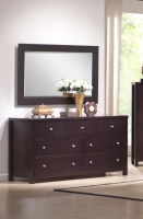 BC527-30 7 Drawer Dresser And Mirror