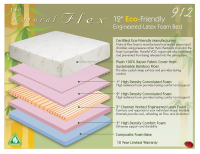 Boyd Natural Flex 912 12 Inch Latex Foam Mattress