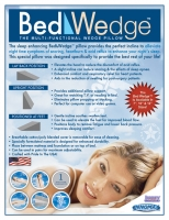 Bed Wedge™ - The Multi-Functional Wedge Pillow