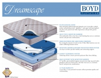 Boyd 163 Dreamscape Softside Plush Top Waterbed