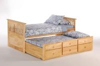 Ginger Captains Bed