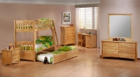 Cinnamon Twin/Twin Bunk Bedroom Collection