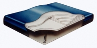 Fiber 2500 Hard Side Waterbed Mattress