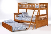 Ginger Twin/Full  Bunkbed by Night and Day
