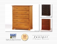 Juniper 5 Drawer Chest