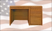 La Jolla Student Desk Golden Oak