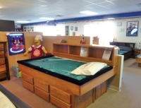 Oak Youth Waterbed  With Drawers ON Sale