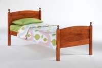 Licorice Twin Bed