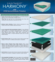 Luxury Support Harmony Softside Waterbed