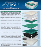 Luxury Support Mystique Softside Waterbed