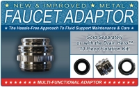 "Metal Faucet Adaptor - ""New & Improved"""