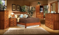 Oak Land Mission Creek Platform Bed Collection