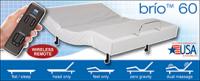 NEW Brio™ 60 - Adjustable Power Base - Leggett & Platt USA