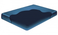 Night Rest Free Flow Hard Side Waterbed Mattress