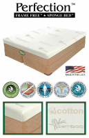 Perfection™ Sponge Bed™ FRAME FREE™ Softside Waterbed