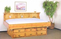 Pine Youth Bed | Daybed |Waterbed | Youth Waterbed| Sideways Bed
