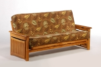 Raindrop  Complete Futon Frame Medium Oak
