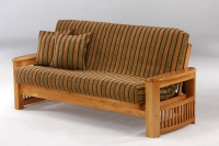 Shadow Complete Futon Frame Medium Oak