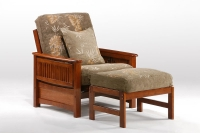 Sunrise Futon Chair & Ottoman