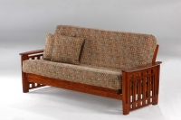 Twilight Complete Futon Frame Cherry