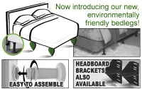 Universal Bed Legs Made From 100% Recycled Material