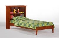 Vanilla Bookcase Bed