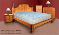 Walnut Hill Platform Bed