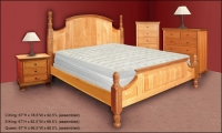 Walnut Hill Poster Bed Collection
