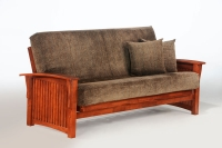 Winter Complete Futon Frame Cherry
