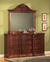 Wyndham Master Dresser And Mirror