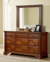 Accent Furniture Somerset Master Dresser and Mirror