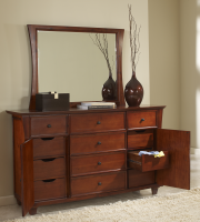 Accent Furniture Michelle Master Dresser and Mirror