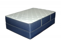 New Bemco Oxford 2 Sided Foam Encased Firm Platinum Bed