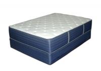 New Bemco Oxford 2 Sided Foam Encased Plush Top Platinum Bed