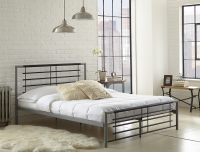 Boyd Specialty Sleep Kennedy Two Tone Metal Platform Bed