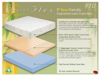 Boyd Natural Flex 910 10 Inch Latex Foam Mattress