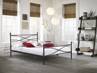 Boyd Rosalyn Criss - Cross Metal Platform Bed
