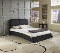 Boyd Sonova Faux Leather Contemporary Platform Bed