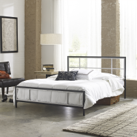 Boyd Zara Two Tone Metal Platform Bed